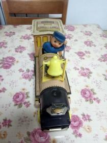 老鐵皮玩具 小火車