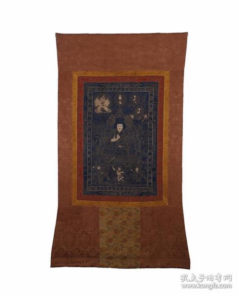 十七世紀 藏傳佛教、格魯派宗喀巴老唐卡