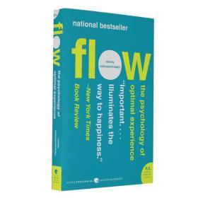 心流 优质体验心理学 英文原版 Flow The Psychology of Optimal Experience 又译当下的幸福 心理学