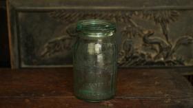 民國綠色玻璃罐
