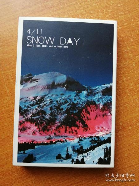 初雪過后  (SNOW DAY)明信片 全套36張,存33張