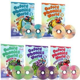 英文儿童绘本牛津语音世界 1-2-3-4-5级 自然拼读教材10本