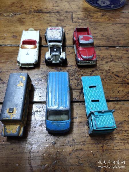 六七十年代——玩具汽車——六個合售