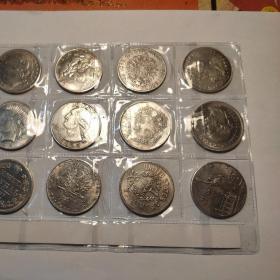 外國銀幣12枚通走!