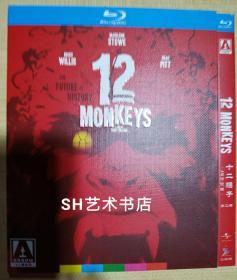 十二猴子(4K修復版) 1995美國  懸疑/驚悚/科幻 /冒險  中文字幕 25GB