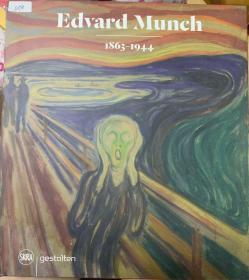 英文原版Edvard Munch 1863-1944爱德华·蒙克 绘画 收藏鉴赏画册