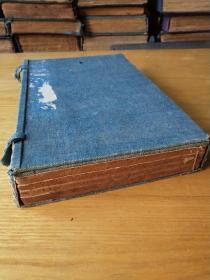 《书经体注》,儒家经典,五经之一,历代皇帝贤贵治国平天下必备经典。清道光木刻板,一函一套四册全。规格25、6Ⅹ17X4.5cm