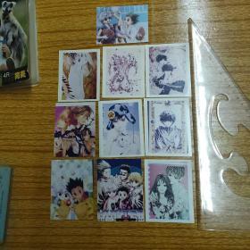 早期卡片10張+冊合售