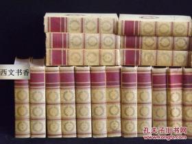 美國藝術家版,世界名著,馬克·吐溫的作品集1-24卷全,大量圖片,1922年紐約出版,精裝32開