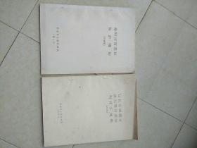 《汉长安城遗址,唐大明宫遗址,西周丰镐遗址》《秦阿房宫遗址保护规划》(讨论稿)共2册合售,赠送本