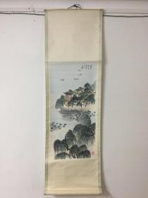 七十年代国画 -《南京莫愁湖》