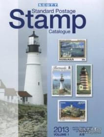 Scott Standard Postage Stamp Catalogue 2013: United States And Affiliated Territories United Nation-2013年斯科特标准邮票目录:美国及附属领土联合国