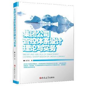 集团公司管理体系设计理论与实践