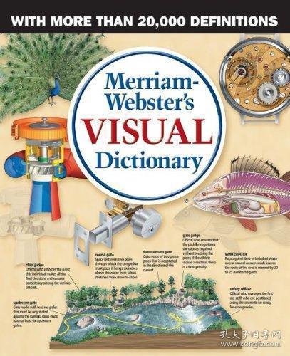 Merriam-webster's Visual Dictionary-韦氏视觉词典
