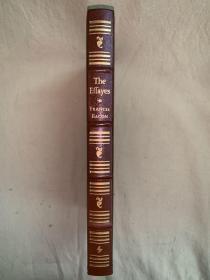 16开真皮精装本:The Effayes or Counsels Civill Morall of Francis Bacon   培根论说文集  真皮封面收藏版,书口刷金