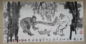 夜中会,1956年生于西安,国家一级美术师,西安美术学院教授。1975年毕业于陕西省艺术学院,1983年毕业于西安美术学院油画系,获学士学位,并留校任教至今。1998年完成美院高研班研究生学。中国美术艺术家协会陕西分会执行主席,中国国家博物馆画廊特聘书画家、中国草书协会COM中心特聘理事、陕西西安,,。,,,