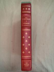 Franklin library限量本:Guy de Maupassant  莫泊桑短篇小说选 世界永恒经典100本名著系列丛书