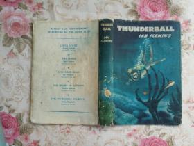 Thunderball, Ian Fleming007作品,1961年初版精装,有护封