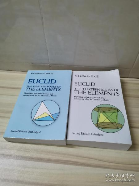 The Thirteen Books of Euclid's Elements, Books 1 and 2