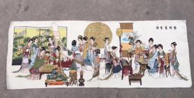 琴棋书画刺绣织锦绣