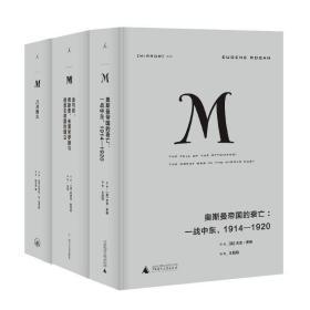正版图书 理想国译丛一战系列 套装3册 奥斯曼帝国的衰亡 金与铁