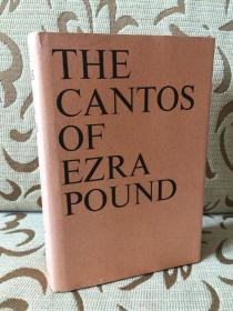 The Cantos of Ezra Pound -- 《诗章》埃兹拉 庞德  1998年14印 精装本 品好