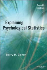 Explaining Psychological Statistics-解释心理统计学