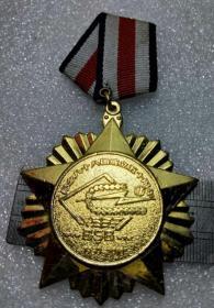 神山圣水西域泉都 紀念88團成立50周年紀念章  銅鍍金 直徑60毫米