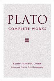 Plato:Complete Works 柏拉圖,精裝,全新,【現貨】