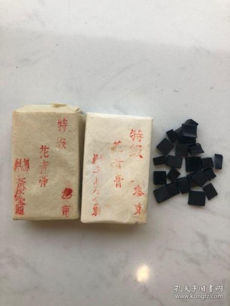 【蘇州姜思序堂】3克特級花青膏(傳統國畫顏料)