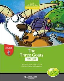黑布林英语阅读 小学a级别6 三只山羊 正版  引进  9787544652223