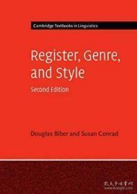 Register, Genre, And Style (cambridge Textbooks In Linguistics)-语域、体裁和文体(剑桥语言学教科书)