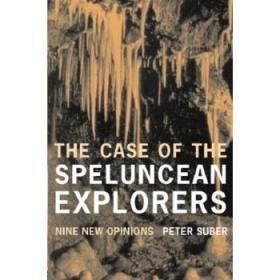 洞穴奇案 英文原版 The Case of the Speluncean Explorers