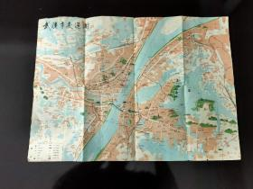 1990年武汉市交通图