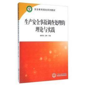 【正版】生产安全事故调查处理的理论与实践 谢财良,王林