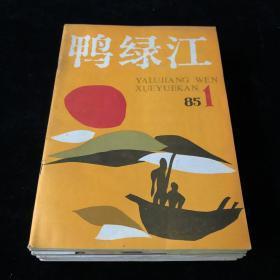 文学期刊《鸭绿江》1985年1-12期(总第269-280期)月刊,十二期散册合售