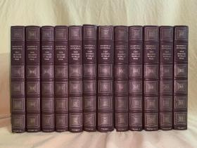 The second world war   丘吉尔二战回忆录  12卷套 烫金浮雕板