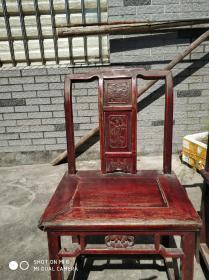 老古董凳子一对