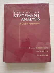 financial statement analysis a global perspective【精装 书壳旧 内页好】