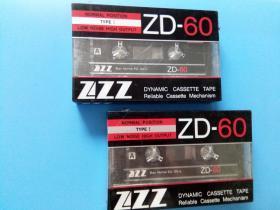 磁带   ZZZ-ZD-60空白录音   未拆封     2盒
