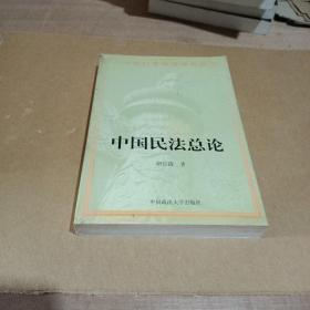 中国民法总论/二十世纪中华法学文丛3