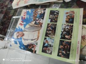 70年代2开电影海报《平原游击队》