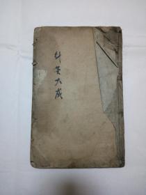 针灸大成(存卷七一册)(尺寸25X16X1)
