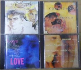 LOVE IS LOVE GREATEST LOVE SONG OF ALL 1.4. AIR SUPPLY 天龙版 旧版 港版 原版 绝版 CD