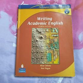 Writing Academic English:Fourth Edition【内页干净 无笔记画线】