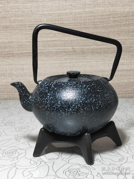 養生帶座鐵壺(xka)(多平臺同售,請先咨詢情況,避免已售)