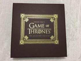绝版原包冰与火之歌权力的游戏设定集豪华限量收藏版inside hbo's game of thrones deluxe collectors edition 带地图