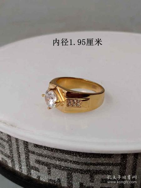 傳世少見的天然寶石戒指   .