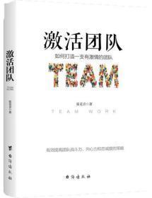 正版現貨 激活團隊:如何打造一支有激情的團隊 張覓音 臺海出版社 9787516822081