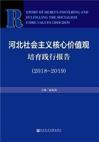 正版現貨 河北社會主義核心價值觀培育踐行報告(2018~2019) 康振海 社會科學文獻出版社 9787520142281